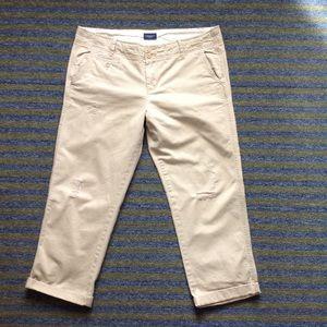 American Eagle crop pants size 10